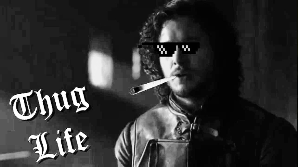 Photo Jon Snow Thug Life